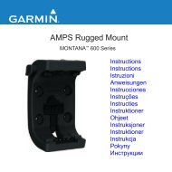 AMPS Rugged Mount - Garmin