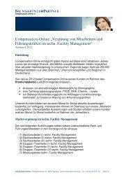 """Compensation-Online """"Vergütung von Mitarbeitern und ..."""