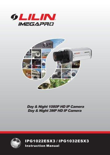 User Manual: LILIN IPG1032ESX - Network Webcams