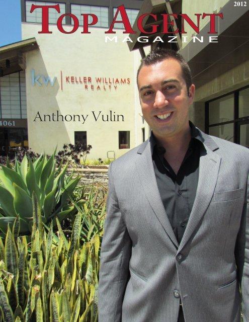 Anthony Vulin - Top Agent Magazine