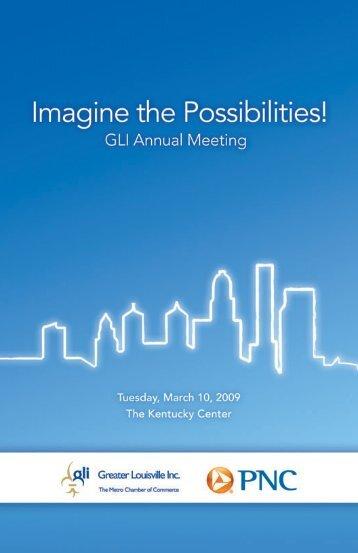 Annual Meeting Agenda - Greater Louisville Inc