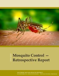 Mosquito Control - Southern Nevada Health District