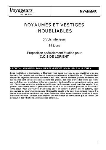 myanmar - Accueil - Lorient