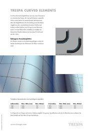 trespa curved elements
