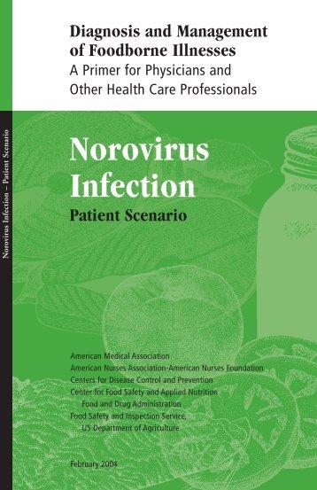 Patient Scenario: Norovirus Infection - Southern Nevada Health District