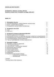 Sivistysstrategia - Kokkola