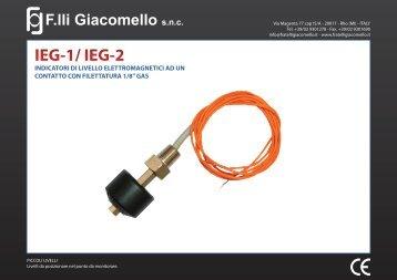 IEG-1/ IEG-2 - F.lli Giacomello
