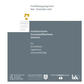 Programm als PDF - Bauhaus-Akademie