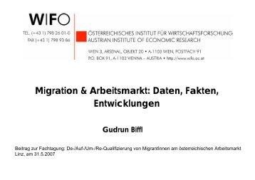 Gudrun Biffl - Migrare