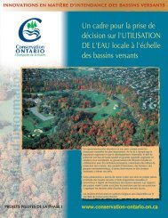 Fact Sheet Three Layout_FR.qxp - Conservation Ontario