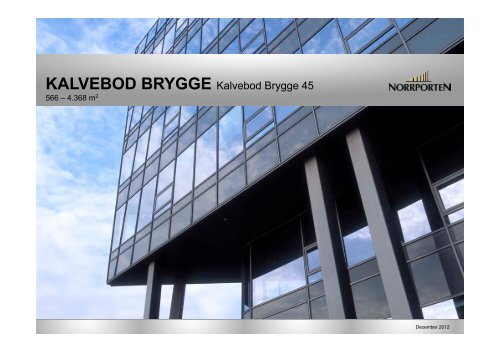 kalvebod brygge - Norrporten