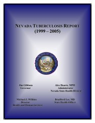 nevada tuberculosis report - Southern Nevada Health District