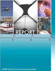 2008 Clark County Trauma System report - Southern Nevada Health ...