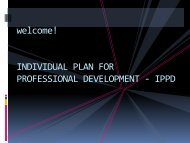 individual plan for professional development - ippd - DepEd Naga City