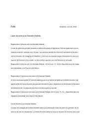 Factsheet la Grenade - Weleda
