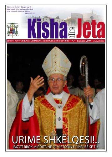 imzot rrok mirdita në 70 vjetorin e lindjes së tij - kishadhejeta.com