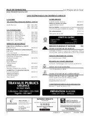 Volume 6, Numéro 09, Octobre 2008 - Ville de Donnacona