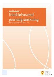 Markörbaserad journalgranskning - Webbutik - Sveriges Kommuner ...