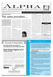 The same procedure… - Tagesanzeiger e-paper - Tages-Anzeiger