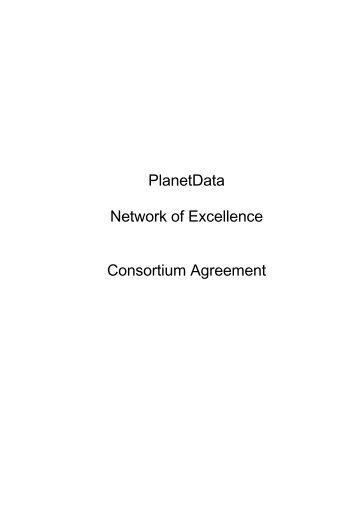 Desca Model Consortium Agreement Anrt