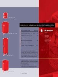 Flexcon membraandrukexpansievaten - Warmteservice