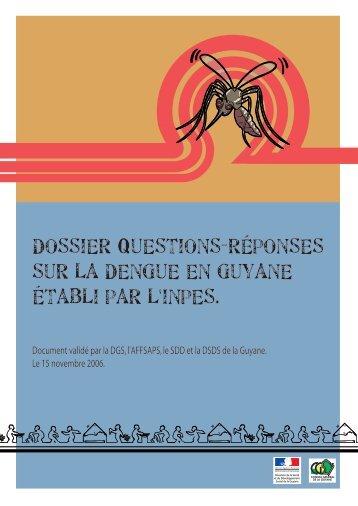Dossier Questions-Réponses sur la dengue en Guyane - Inpes