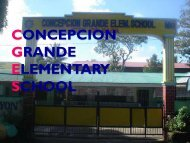 CONCEPCION GRANDE ELEMENTARY SCHOOL - DepEd Naga City