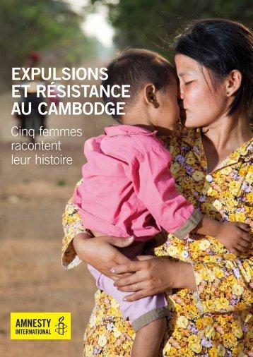 Expulsions et résistance au Cambodge. Cinq femmes racontent leur ...