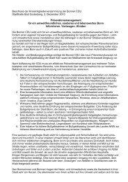 Beschluss CDU-Kreismitgliederversammlung - CDU-Kreisverband ...
