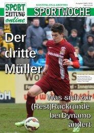 Der dritte Müller - Was sich zur Rückrunde bei Dynamo ändert