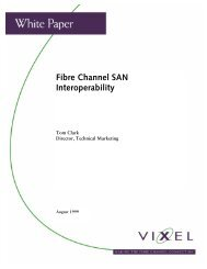 View a Related White Paper: Fibre Channel SAN Interoperability