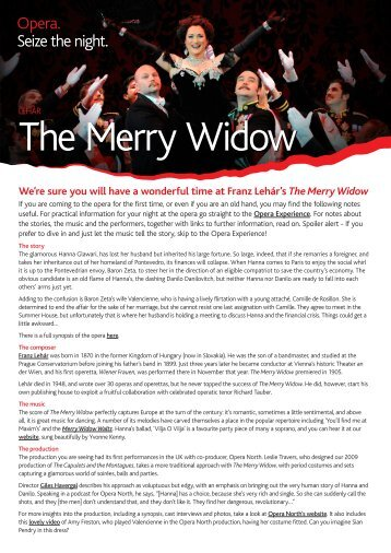 The Merry Widow - Opera Australia