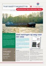 Kanaalmagazine 2 - maart 2009 - Waterwegen en Zeekanaal