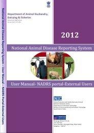 NADRS Portal - User Guide - External User - aisect