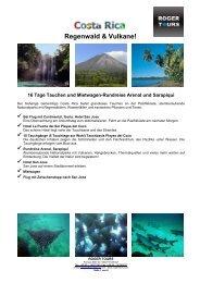 Regenwald & Vulkane! - Roger Tours
