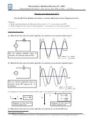 Electricidad y Medidas Eléctricas II – 2012. Práctico de Laboratorio ...