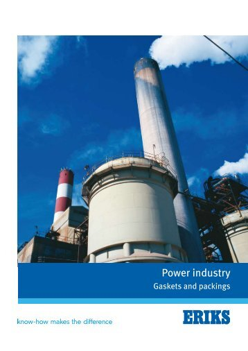 Gaskets for the power Industry - Eriks UK