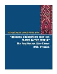 Magsaysay 2004 - LGRC DILG 10