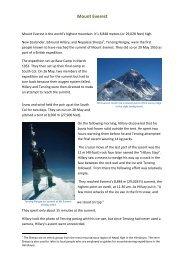 Mount Everest - Motorcyclemeanders