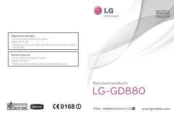 GD880 - Bedienungsanleitung.pdf herunterladen - Fonmarkt.de