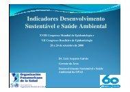 Indicadores Desenvolvimento Sustentável e Saúde ... - Epi2008