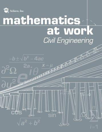 mathematics at work - Achieve