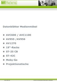Medienschrank AVC 600 - Relens