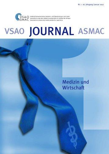 PDF-Ansicht öffnen (4 mb) - VSAO Journal