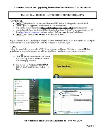B Scan Plus Visual Aid Pdf Accutome Ultrasound Support
