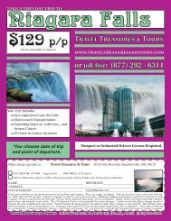 129 p/p - Travel Treasures & Tours