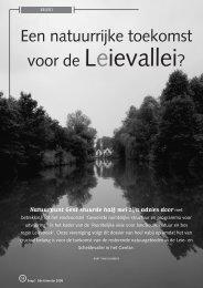 jg7_nr2_Een natuurlijke toekomst voor de ... - Natuurpunt Gent