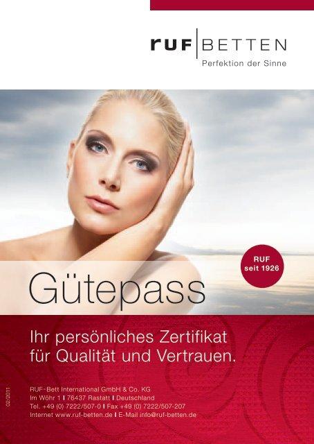 Download Gutepass Pdf Ruf Betten