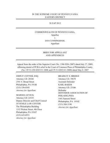 case brief of the commonwealth v pestinikas Nearly all cases come to it on appeal from a lower court if a case is tried in district or circuit court, and the losing parties involved are not satisfied with the outcome, they may ask for a higher court to review the correctness of the trial court's decision.