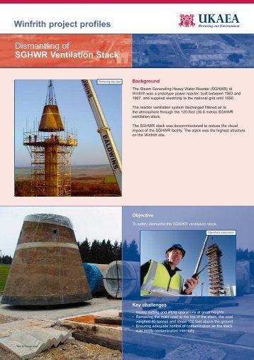 Dismantling of SGHWR Ventilation Stack